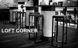 Барные стулья индастриал в интрерьере бара. Качественные стулья для лофта, бара, ресторана, кафе, ап