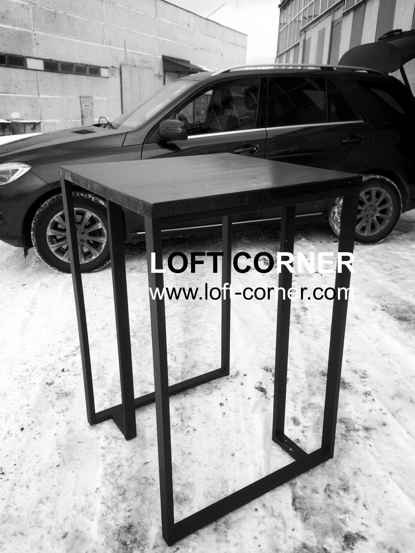 Барный стол лофт, мебель в стиле лофт для кафе, бара, ресторана, барный стол индастриал