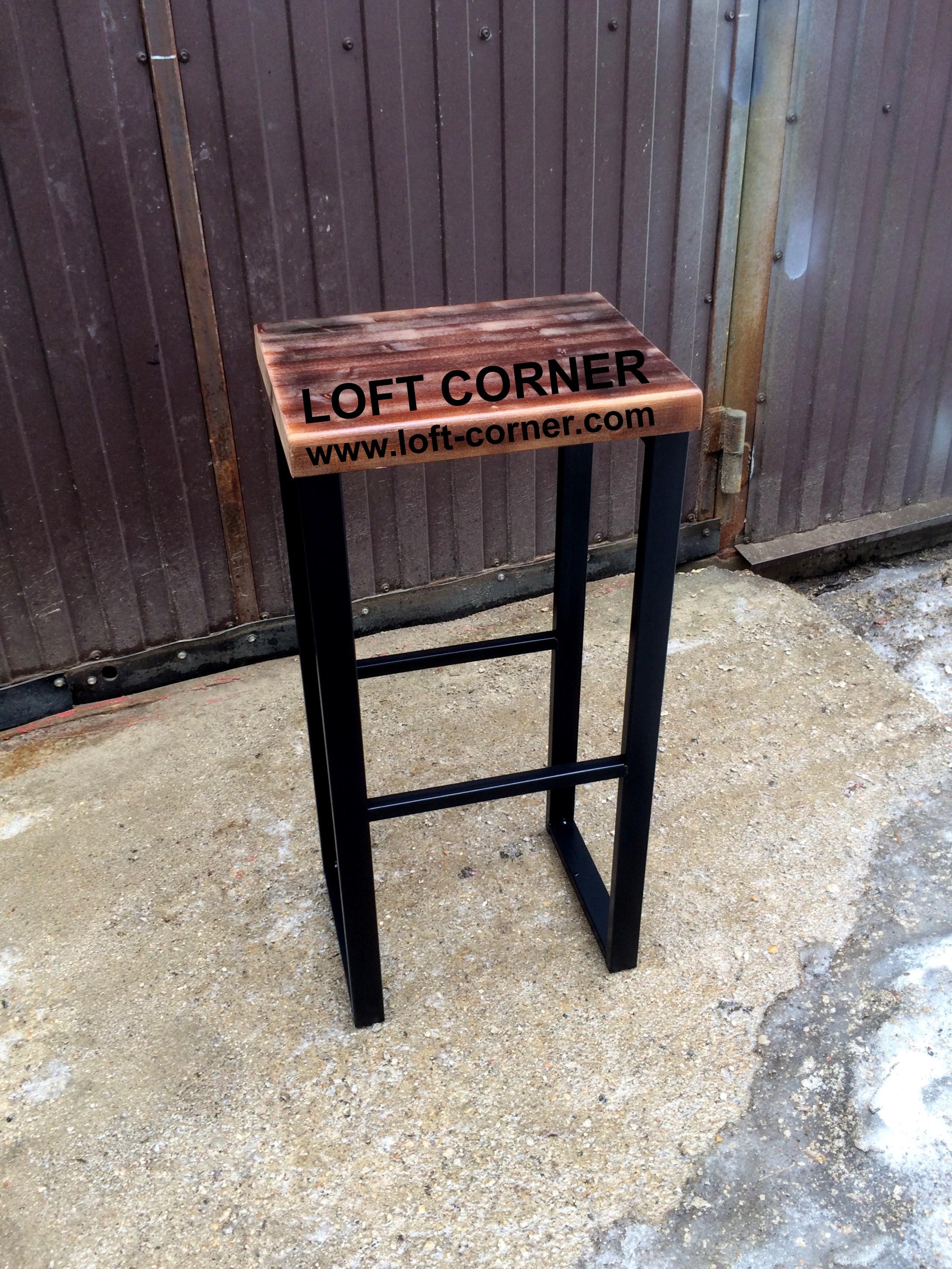 Барный табурет индастриал, ресторанная мебель лофт, стол лофт, стул лофт, табурет лофт