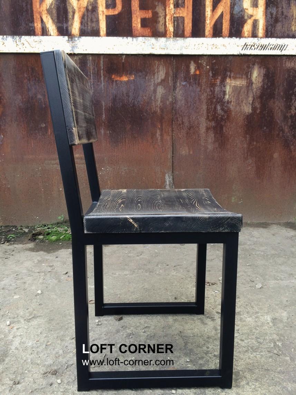 Мебель лофт на заказ, стул бар с выемкой, ресторан стул, барный стул, мебель кафе на заказ, мебель б
