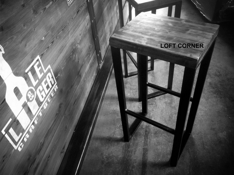 Барный стул лофт, индастриал