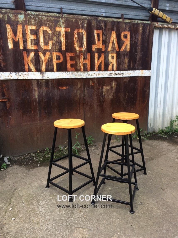 мебель бар лофт, барный стул лофт, барный табурет лофт, производство мебели в индустриальном стиле н
