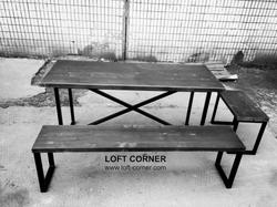 Стол лофт, мебель  для ресторанов и кафе, барная мебель лофт, стол для ресторана в стиле лофт, стол