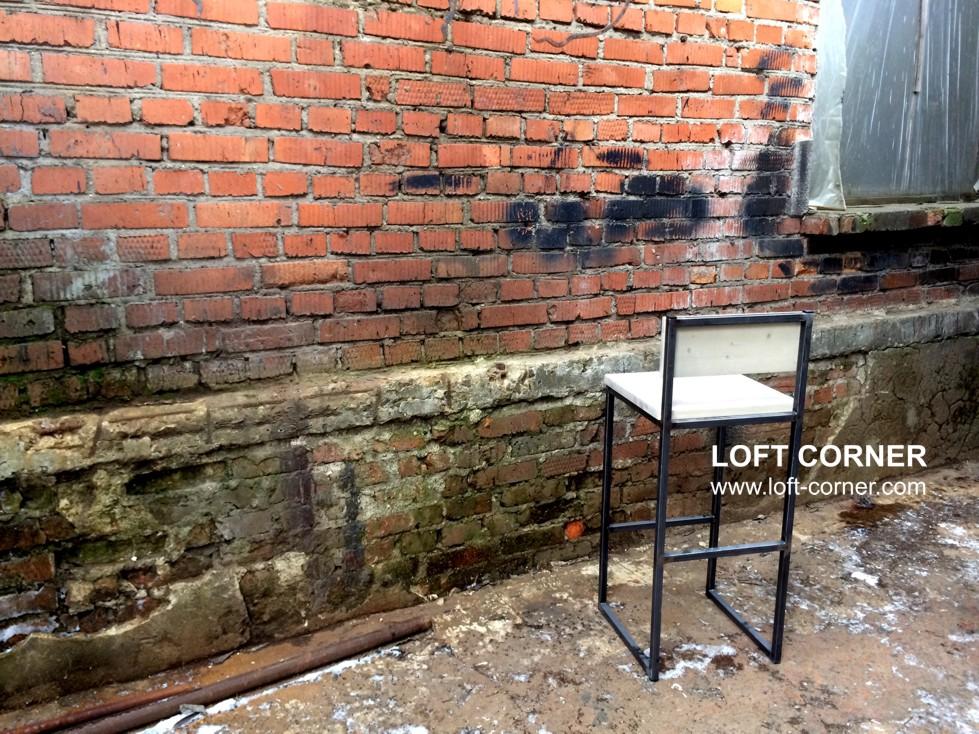 Купить барный стул лофт, мебель в стиле лофт, барная мебель для ресторанов, мебель кафе, стиль лофт,