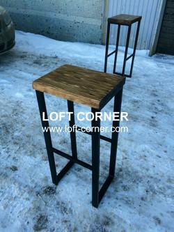 Барный табурет лофт, барный стул лофт, мебель для бара, мебель для ресторана лофт, мебель индастриал