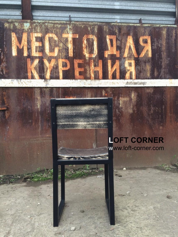 мебель для бара лофт, мебель для ресторана лофт, стул индустриальный, стулья лофт, стул с выемкой