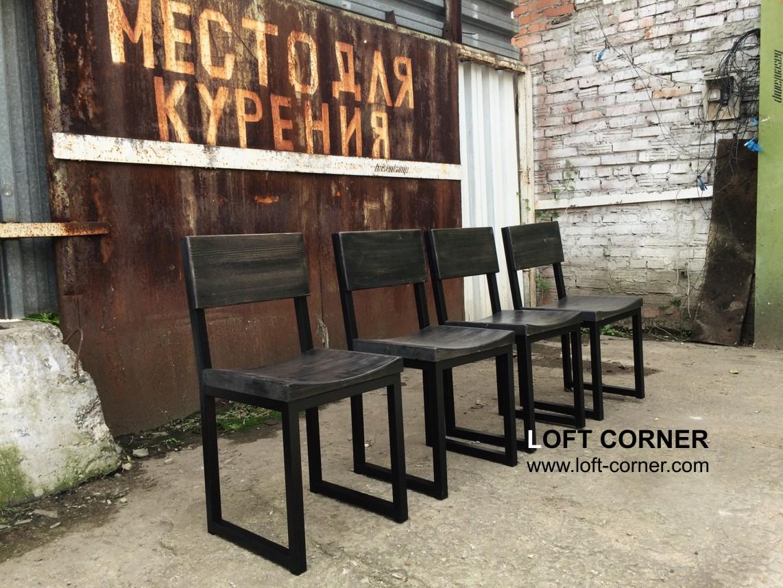 Стул лофт с удобной выемкой, мебель для бара лофт, мебель ресторан купить, мебель кафе лофт, бар лоф