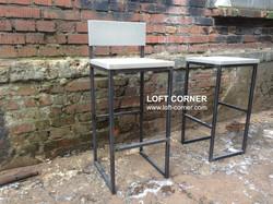 Барные стулья лофт, мебель для баров и ресторанов лофт, мебель кафе, барная мебель купить, loft мебе