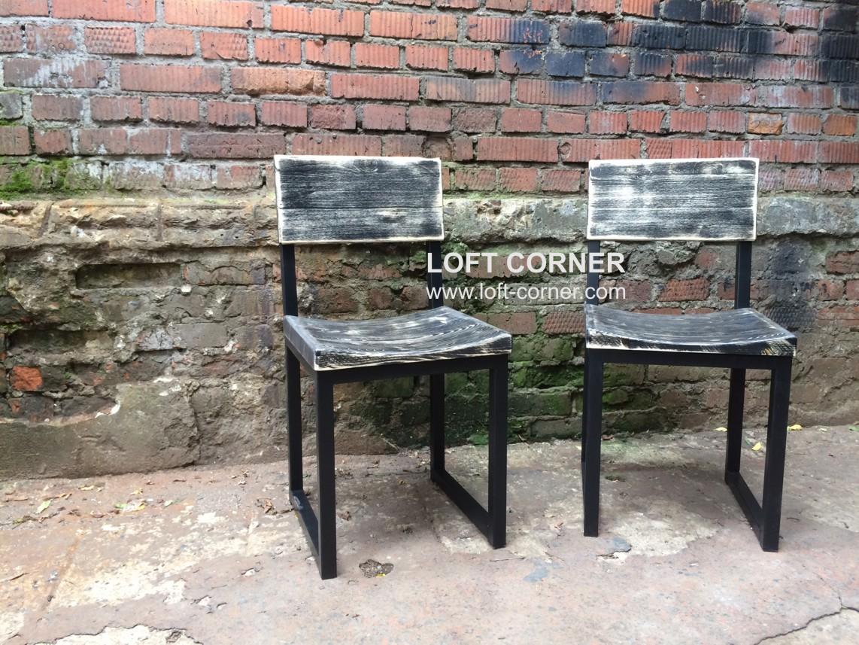 Стулья лофт для бара, барная мебель лофт, ресторанная мебель лофт, мебель кафе лофт, стул с выемкой