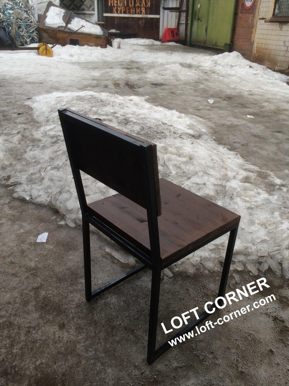 Ресторанный стул лофт индастриал, производство мебели лофт_edited
