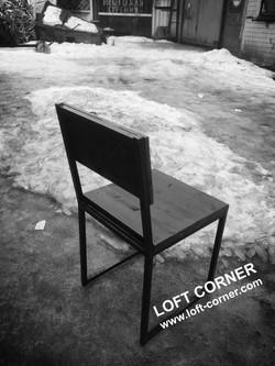 Ресторанный стул лофт индастриал, производство мебели лофт