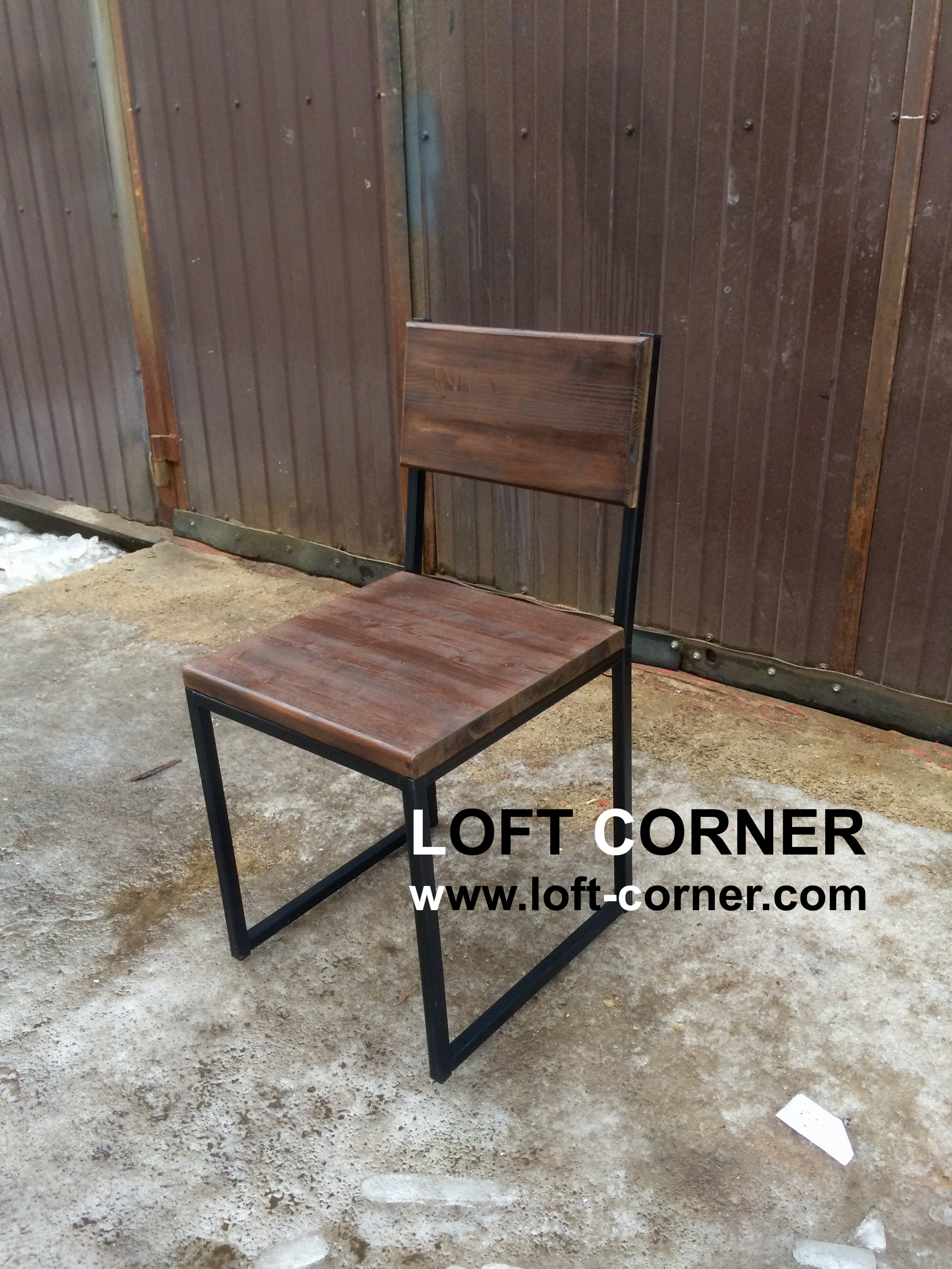 Ресторанная мебель лофт, ресторанный стул лофт, барная мебель лофт, стул индастриал, стул лофт