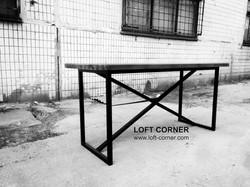 Стол для ресторана, стол кафе, мебель лофт производство, стол лофт, барная мебель лофт, мебель для р