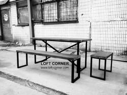 Стол для ресторана лофт, мебель для ресторанов, стол лофт, барная мебель, стол кафе, стол бар, мебел