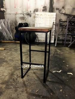 Барный табурет лофт стиль, барный стул, мебель лофт, мебель кафе, мебель для ресторана лофт, барная
