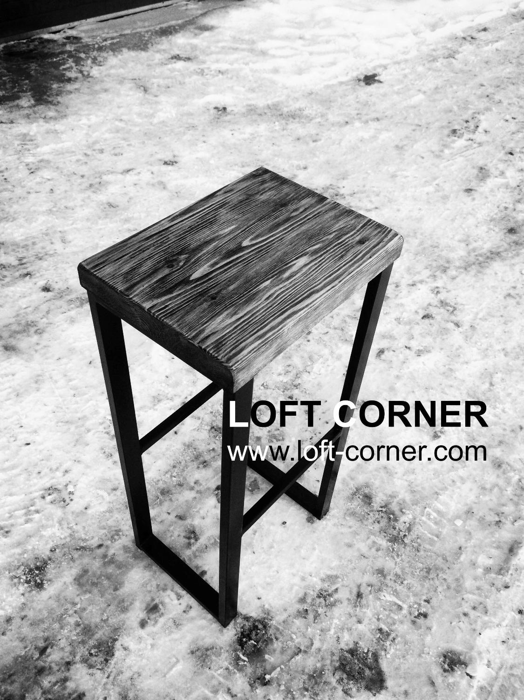 Барный стул лофт, барный табурет индастриал, мебель лофт, мебель индастриал, мебель для бара лофт, р
