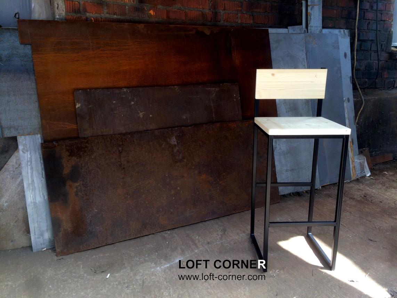 Барный стул в стиле лофт, мебель лофт можно купить в LOFT CORNER, мебель бар от производителя, мебел