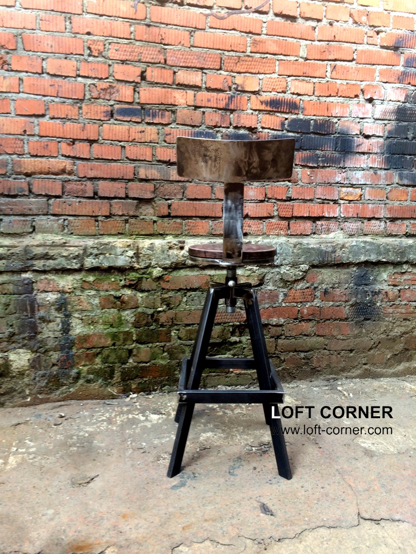 Надежный барный стул в стиле лофт, дизайнерская мебель, дизайнерские стулья, мебель в стиле лофт