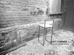 Барный стул в стиле лофт, недорогой стул, мебель лофт, мебель бар, мебель ресторан, дизайнерский сту