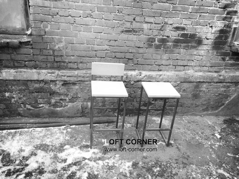 Барные стулья в стиле лофт, барный стул со спинкой, мебель для баров, ресторанов и кафе, мебель в ст