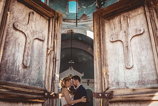Wedding in Sounio