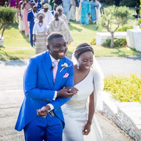 Nigerian Wedding in Greece
