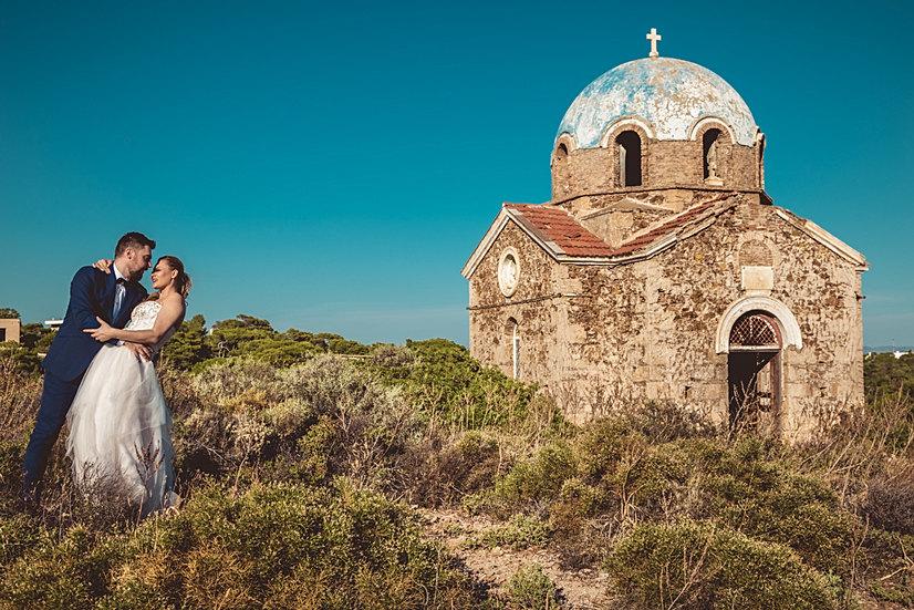 Old Greek Church wedding