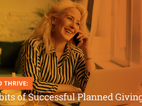 15 Habits of Successful Planned Giving Pros