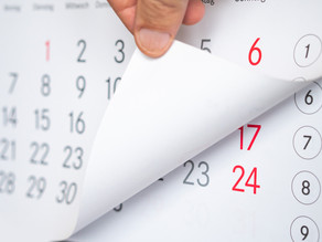 Calendar Checkpoints for Your Board