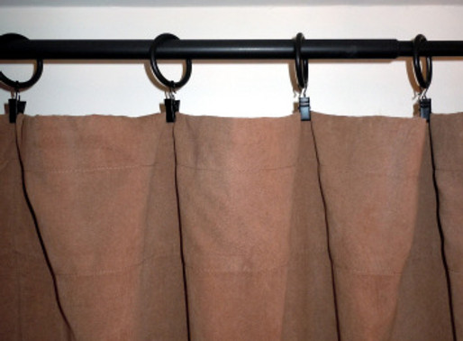 Pinch Pleat Drapes!