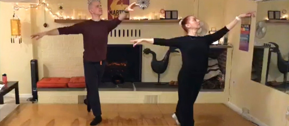 Online Ballet Barre Classes with Mané and Roger!