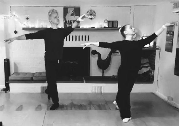 Mané and Roger Teaching Ballet!