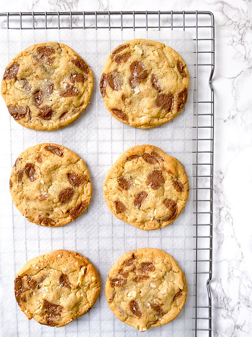 Milk Chocolate & Salted Peanut Cookie Dough - makes 10-12