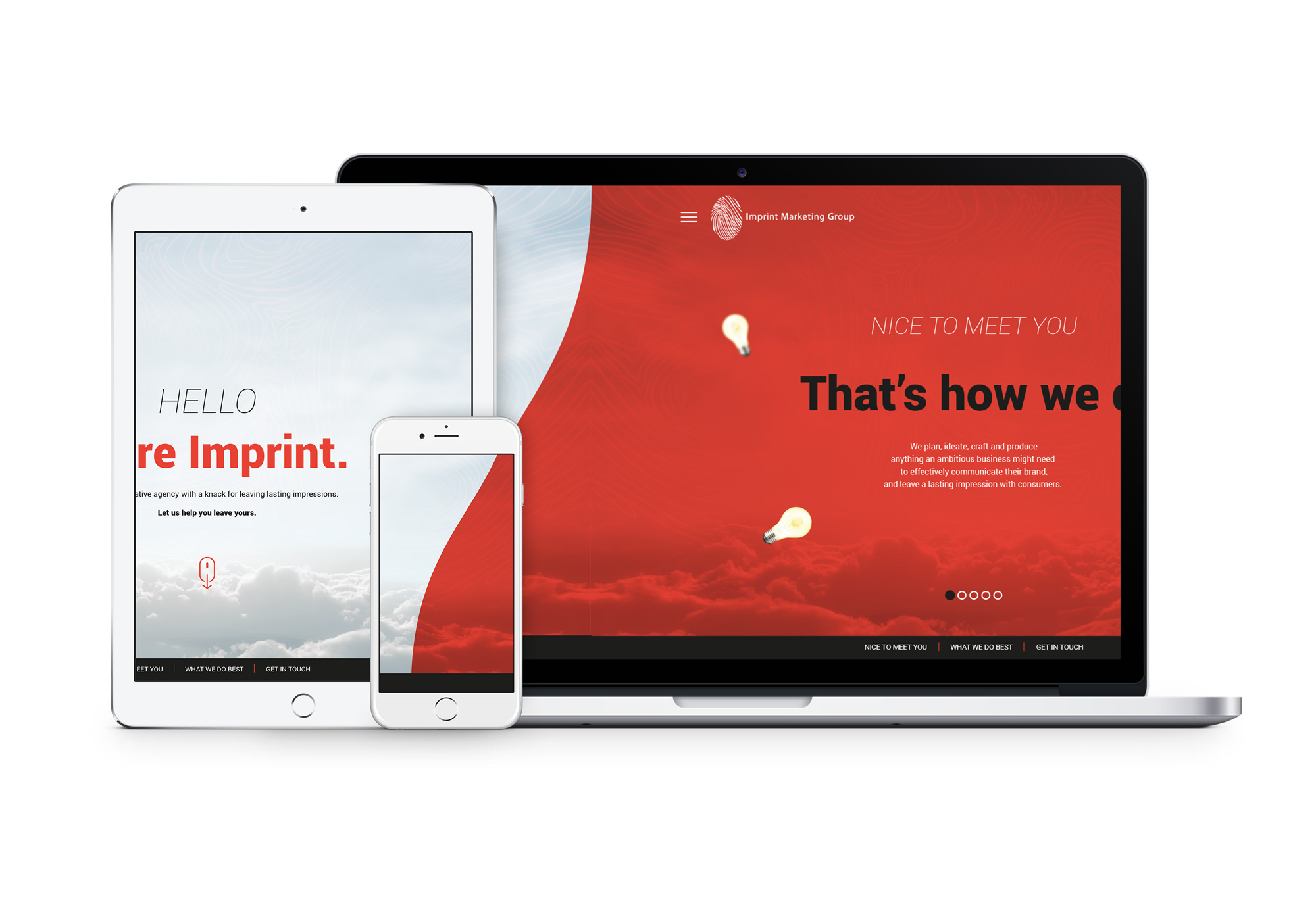IMPRINT MARKETING GROUP WEBSITE INTE