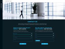 GLASS WEBSITE INTERFACE