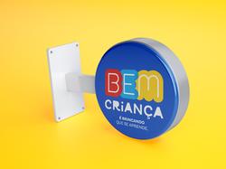 BRAND IDENTITY BEM CRIANÇA