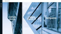 BOS GLASS WEBSITE INTERFACE