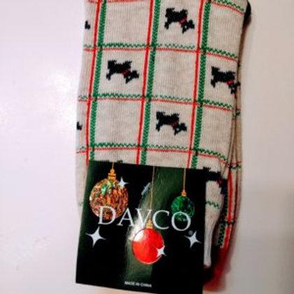 DAVCO CHRISTMAS SCOTTIE WOMEN'S CREW