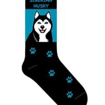 SOXETEER SIBERIAN HUSKY DOG WOMEN'S CREW