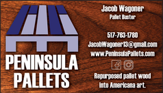 Peninsula Pallets Business Card