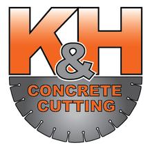 K&H Concrete Cutting Logo