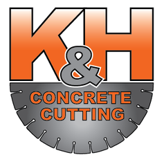 K&H Concrete Cutting Logo