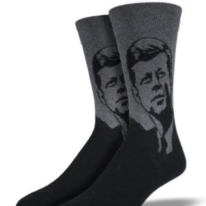 SOCKSMITH PRESIDENT JFK MEN'S CREW SOCK