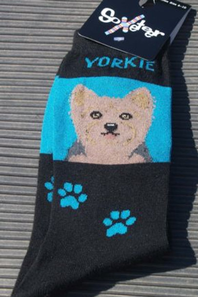SOXETEER YORKIE YORKSHIRE TERRIER DOG WOMEN'S CREW