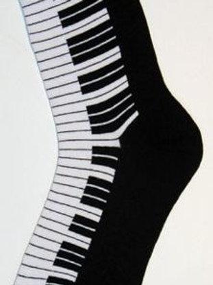 "SOCKSMITH PIANO KEYS WOMEN""S KNEE HIGH SOCKS"