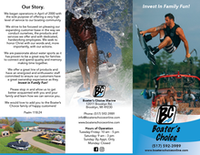 Boater's Choice Brochure Front
