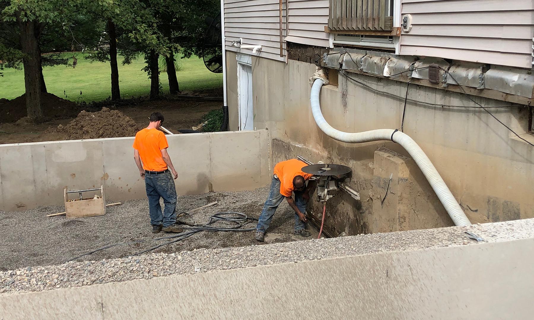KandH Concrete Wall Sawing