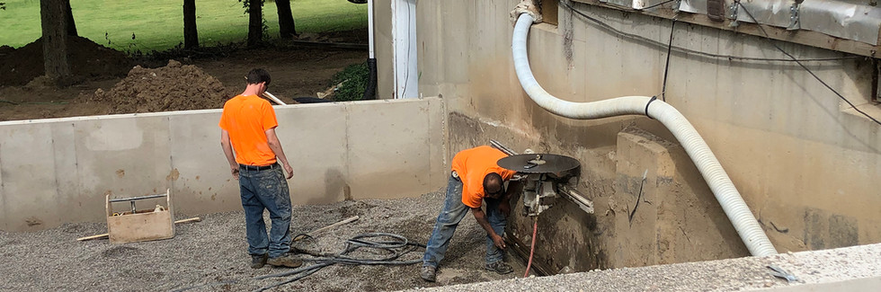 KandH Concrete Wall Sawing