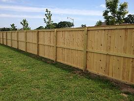 Wood Fence in Lansing, MI