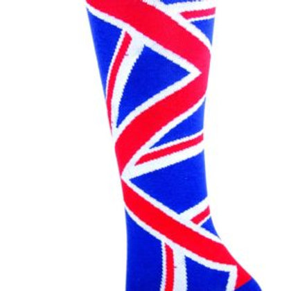 SOCKSMITH UNION JACK MEN'S CREW